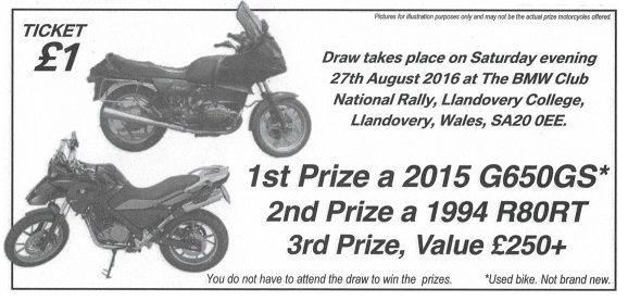 National Raffle advert, click for more info